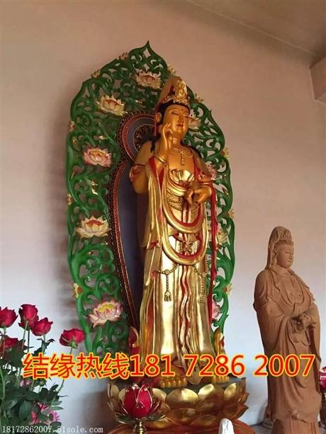 订做宗教雕像大型佛像厂观音菩萨
