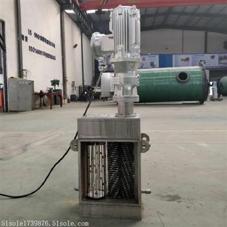 雨水提升泵站 双鼓 不锈钢 粉碎型格栅 设备型号