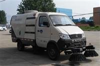 纯电动扫路车程力威电动扫路车新能源扫路车