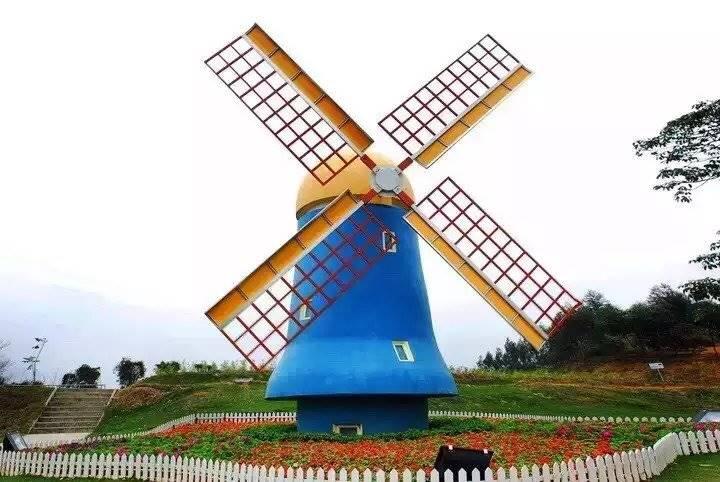 厂家制作荷兰风车出租景观风车出租