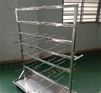不锈钢SMT双面挂料车 拆装式端子盘物料存放车料盘架 挂料车定制