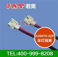 东莞A2007H-02P车灯线束厂家LED前大灯线束