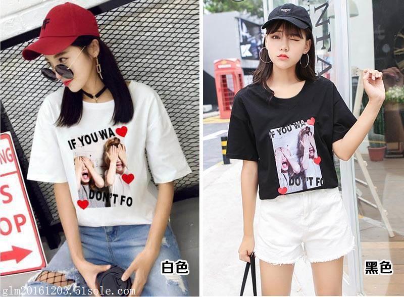 T恤拿货网上夏装中低价位T恤批发广东夏装小批发