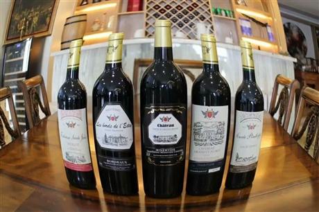 法国原装原瓶aoc红酒红葡萄酒代理批发