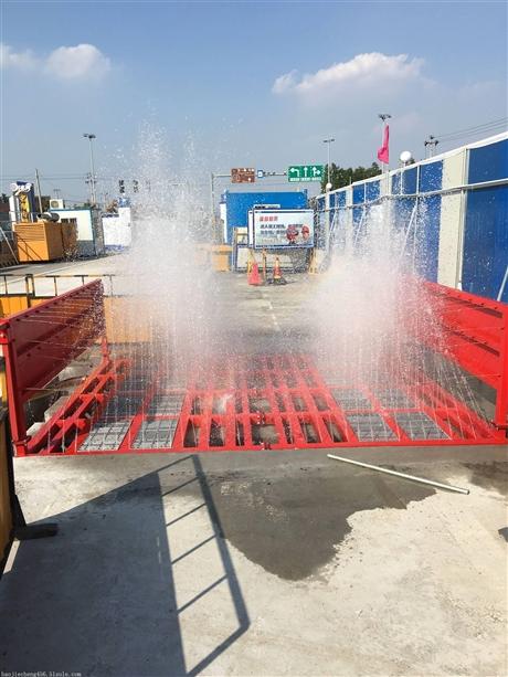 建筑工地自动洗车机  工地自动冲洗机  合肥工地自动冲洗平台厂家