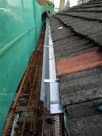 别墅方形雨水管成品屋面落水系统