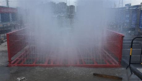 合肥工地洗车机 建筑工地全自动冲洗台