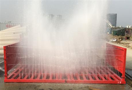 工地自动洗车台  建筑工地感应式洗车设备 工地自动洗车台