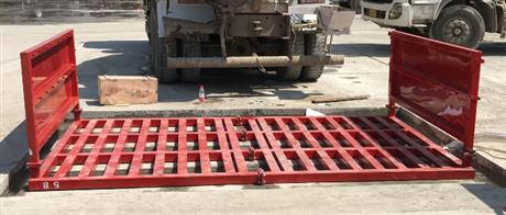 工地冲洗槽  合肥建筑工地感应式洗车台 工地全自动冲洗平台