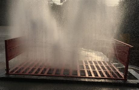 工地渣土车洗车机  合肥建筑工地自动冲洗设备 工地自动洗车台