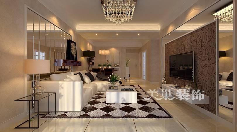 美巢装饰-中益7囍112平小三房装修效果图-餐厅采光改造的怎样