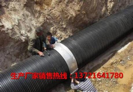 钢带增强螺旋波纹管价格-钢带波纹管厂家报价