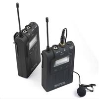 BOYA 博雅 BY-WM6单反相机无线麦克风摄像机采访无线领夹话筒小蜜