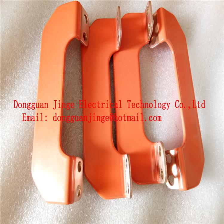 橙色树脂粉末涂层铜排 绝缘涂层铜排