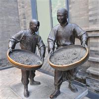 厂家直销茶文化园林小品雕塑