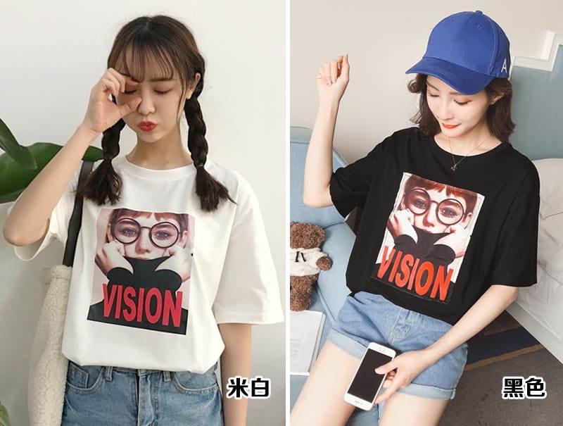 松T恤衫批发大码T恤韩版时尚大版女装T恤加宽加大印花T恤短袖中袖