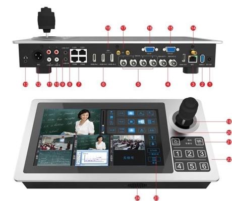 数字录播一体机 NK-D12MWPRH 4g无线便携式录播一体机