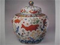 元代五彩瓷器特征特点