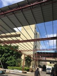 石龙石碣茶山彩钢板隔墙吊顶装修