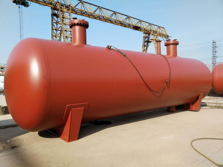 50立方地埋液化气储罐 山东液化气储罐厂家 供应5-200立方储罐