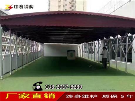 天津北京定做物流仓库帐篷活动伸缩雨棚遮阳停车蓬河北折叠移动蓬