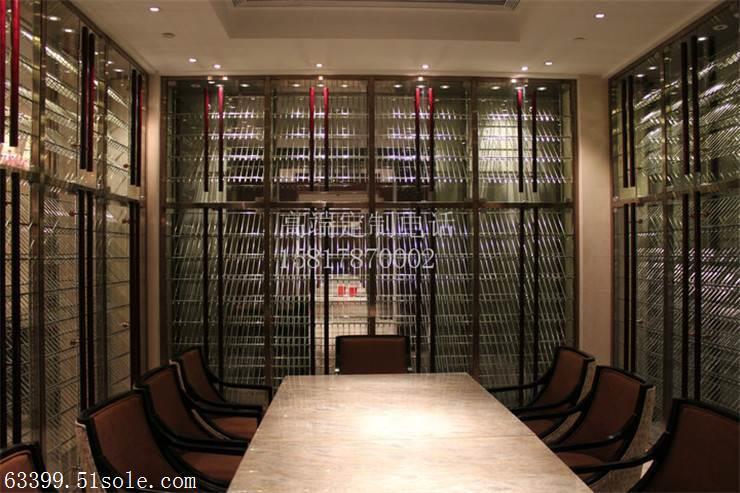 酒吧不锈钢酒柜、壹凌金属专注、不锈钢酒柜
