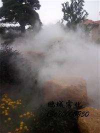 假山人造雾设备 人造雾