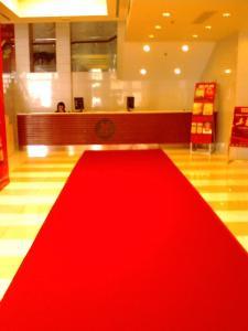 展览.针刺地毯