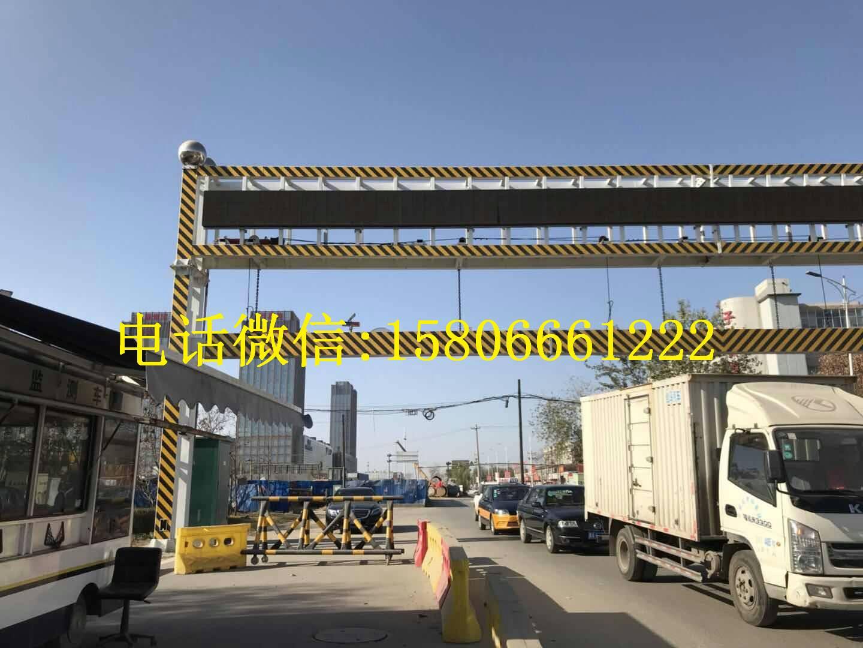 道路口遥控电动升降限高杆限高架厂家