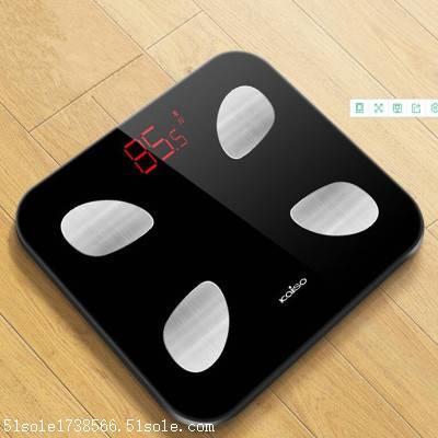 测量出人体所含成分的比重