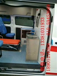 新世代V348短轴监护型救护车厂家现车改装