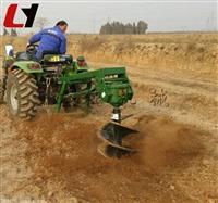 小型四轮拖拉机植树挖坑机 可定做植树挖坑机生产厂