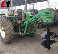 小型四轮拖拉机植树挖坑机高效车载式挖坑机生产厂