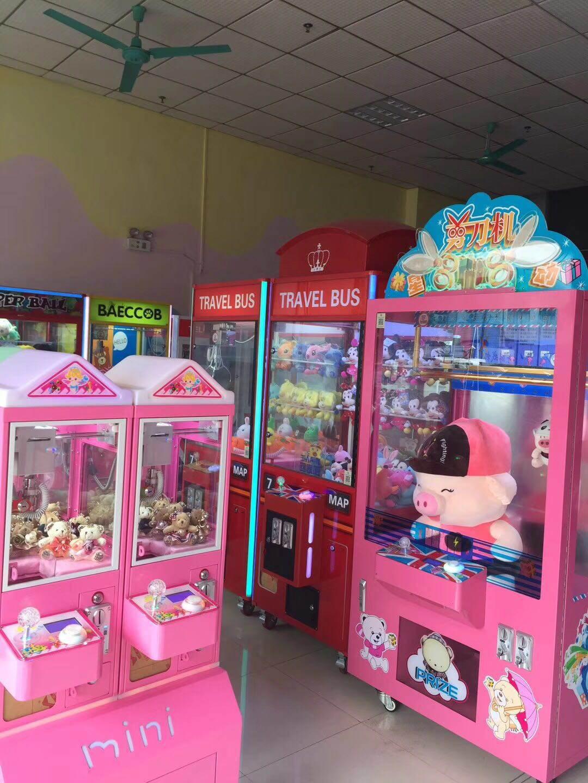 力高动漫出售娃娃机剪刀机厂家直销