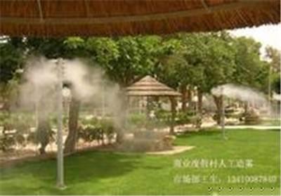 养殖场喷雾消毒除臭系统