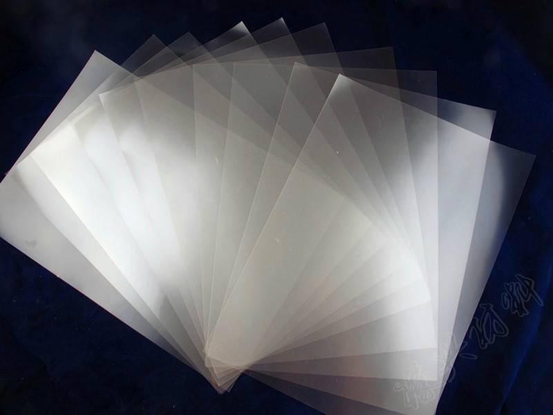 磨砂制版胶片,透明磨砂胶片,磨砂菲林,磨砂透明胶片