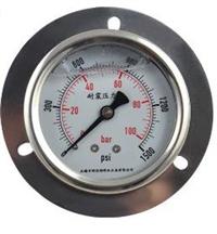 带边盘装耐震压力表安装结构
