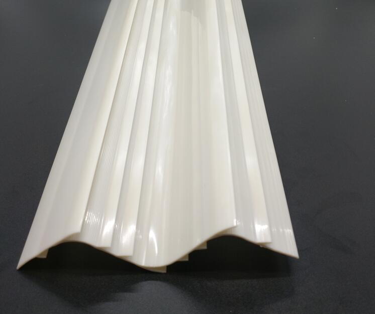 LED灯具塑料配件 ABS塑料异型材