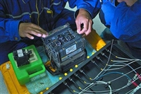 对接监控光纤线,机房熔接光纤,熔光纤配线架,接光缆