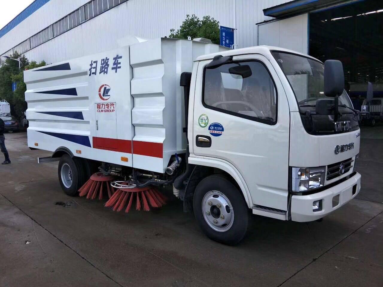 东风小型扫路车(1.5方水4方尘)环卫垃圾车厂家价格