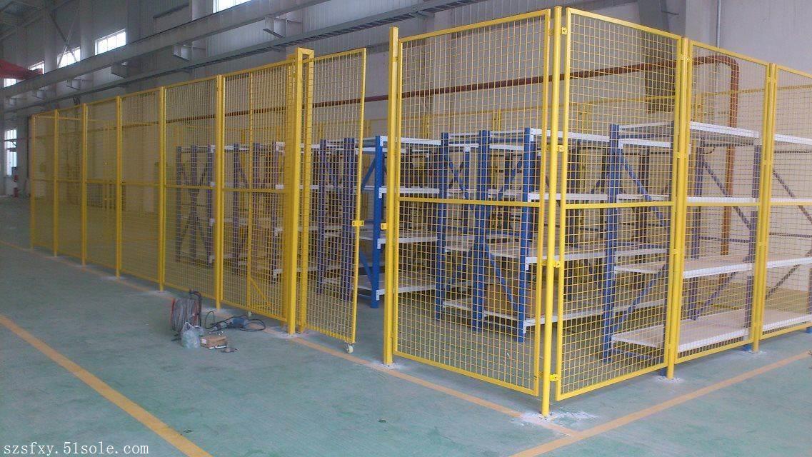 深圳仓库隔离网生产厂家,东莞机器人隔离网价格