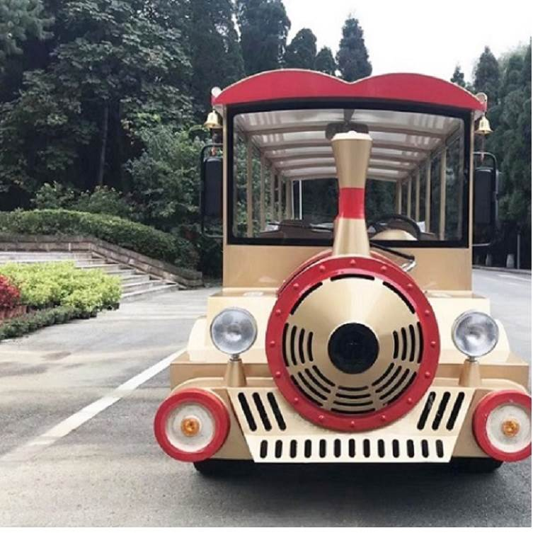 14座小火车 景区旅游代步车 外观时尚独特