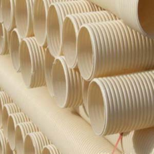 供甘肃PVC双壁波纹管和兰州HDPE钢带
