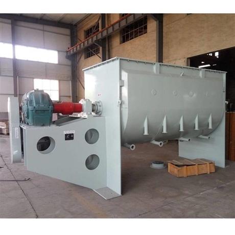 供应耐火材料生产设备 卧式螺带混合机