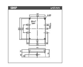 首页 电子 传感器,敏感元器件 称重,测力传感器 > dacell接线盒sb4p