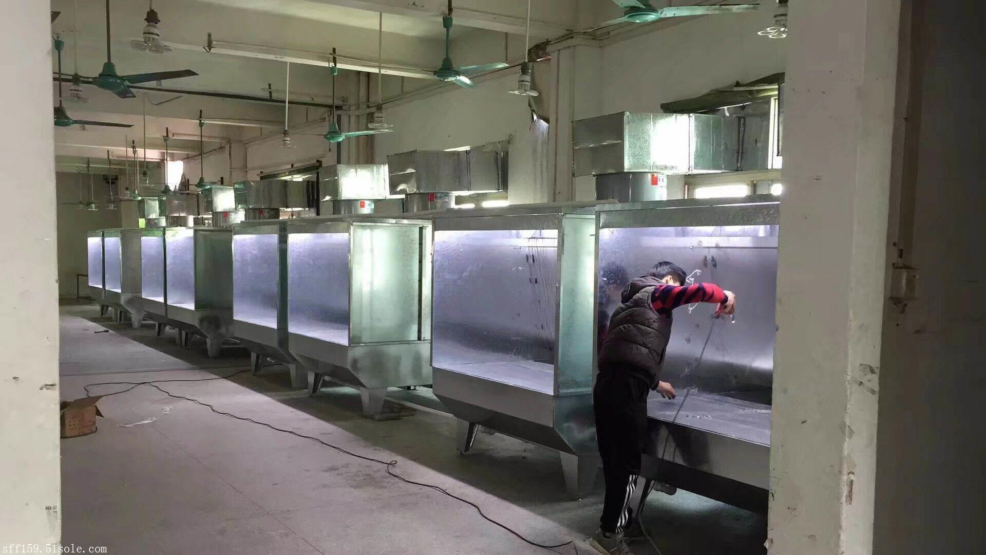 供应家具喷漆柜 家私厂喷油柜 环保除尘柜 不锈钢水濂柜 水帘柜