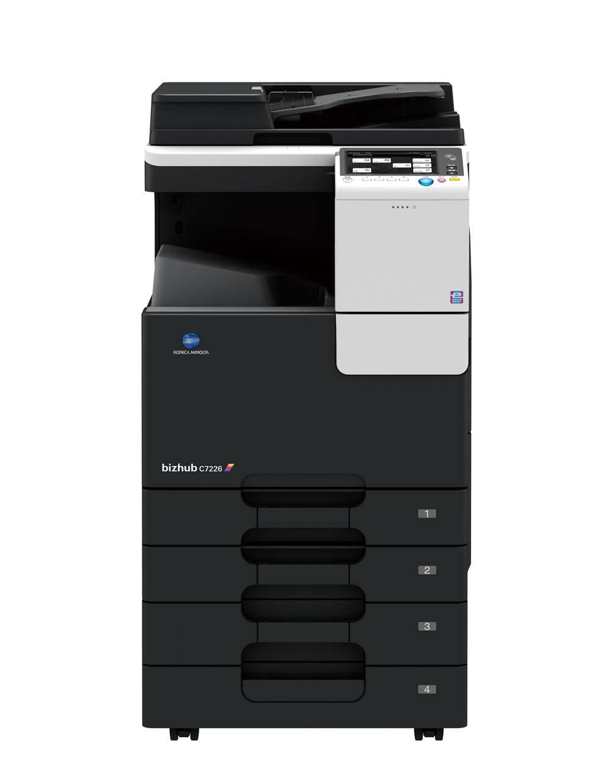 供应昆山打印机 柯尼卡美能达复印机C7226 厂家批发