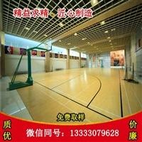 木地板篮球场  河南运动木地板厂家