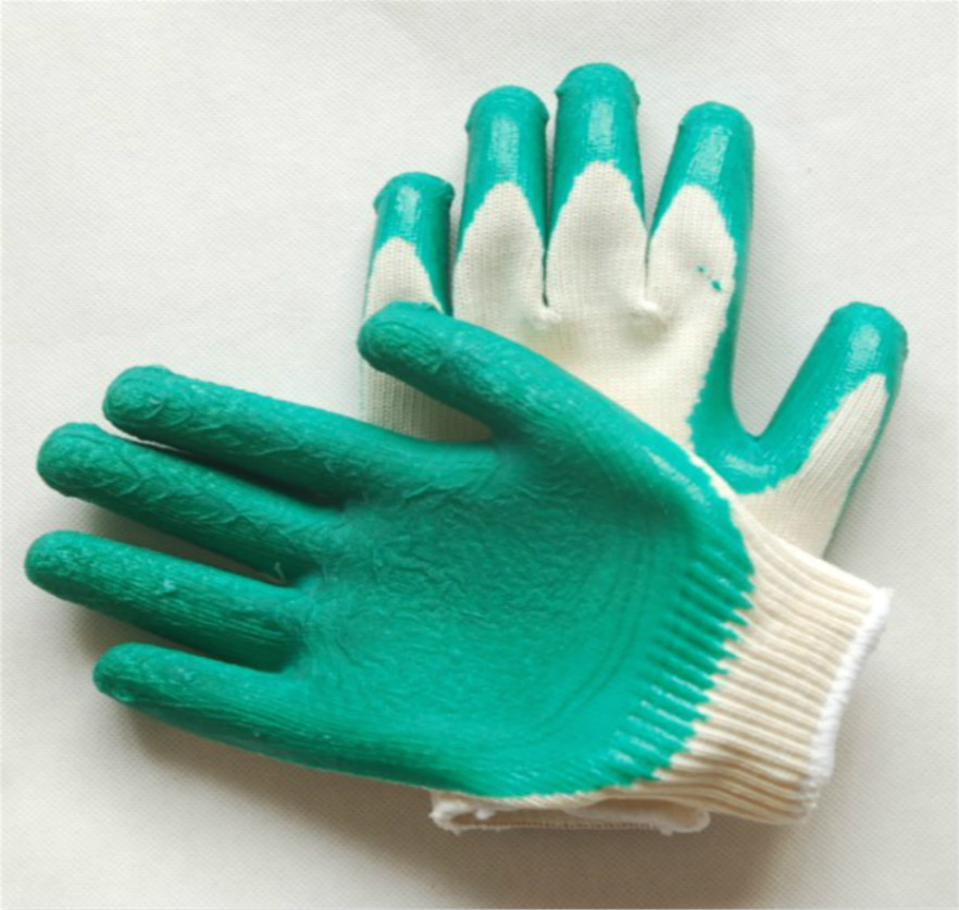防护手套线挂胶手套结实耐用手袋舒服柔软