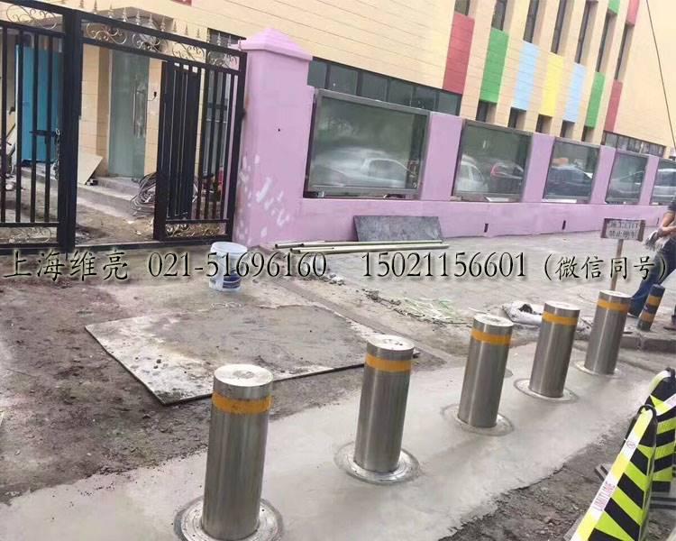 电动升降路桩,步行街升降路桩,上海升降路桩厂家